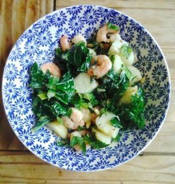 Lemon, Chilli & Garlic Prawn Salad